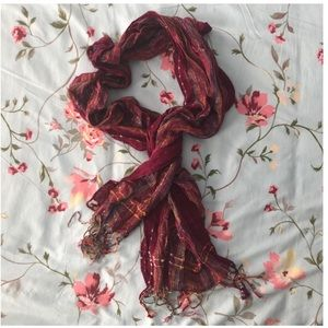 AVENUE multicolor scarf